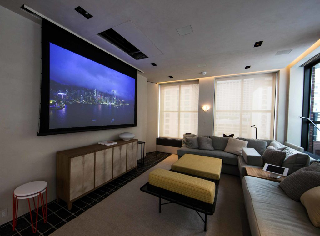 Penthouse Home Theater
